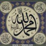 Mohammed,Abu Bakr,Umar,Uthman,'Al